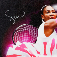 "Serena Williams Signed ""Pioneer"" 20x30 Limited Edition Photo on Canvas (UDA COA) at PristineAuction.com"