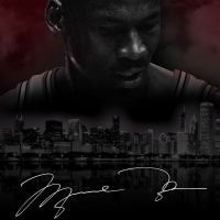 "Michael Jordan Signed Chicago Bulls ""City Of Big Shoulders"" LE 25x40 Photo (UDA COA) at PristineAuction.com"