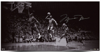"Michael Jordan Signed LE Bulls ""We Have Lift Off"" 18x36 Photo (UDA COA)"
