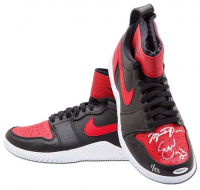 Serena Williams & Michael Jordan Signed Pair of (2) LE Nike Court Flare Air Jordan1 Shoes (UDA COA)