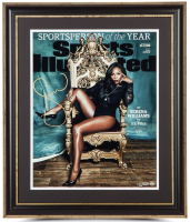 "Serena Williams Signed ""Sportsperson Of The Year"" 16x20 Custom Framed Limited Edition Photo (UDA COA)"