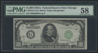 1934-A $1000 One Thousand Dollars Federal Reserve Note - Fr#2212-G (PMG 58)