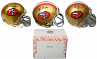 San Francisco 49ers Signed Mystery Box Mini Helmet – World Champions Edition - Series 1 - (Limited to 100)