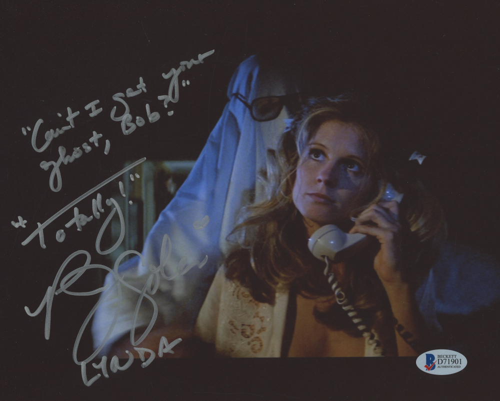 p j soles signed halloween 8x10 photo inscribed cant i get your