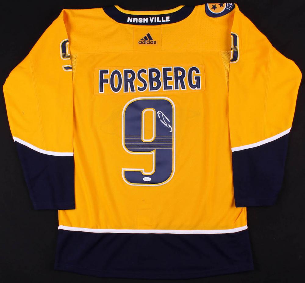 8f4e5c8f819 Filip Forsberg Signed Predators Jersey (JSA COA) at PristineAuction.com