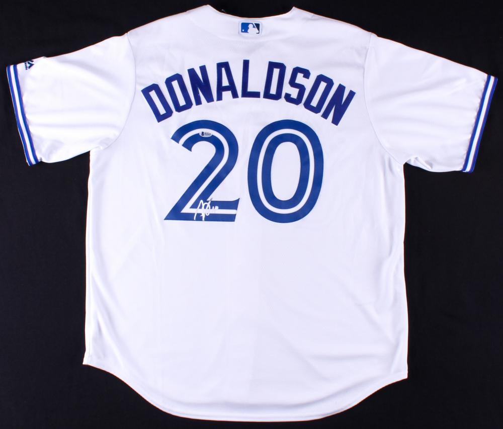promo code c52b7 f3d73 denmark josh donaldson autographed jersey 62b72 86e74