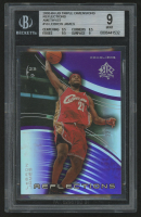 2003-04 Upper Deck Triple Dimensions Reflections Amethyst #10 LeBron James (BGS 9)