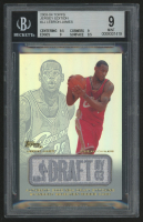 Lebron James 2003-04 Topps Jersey Edition #LJ RC (BGS 9)