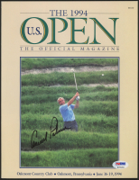 """Arnold Palmer Signed """"The 1994 Official U.S. Open Magazine"""" (PSA LOA) at PristineAuction.com"""