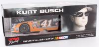 Kurt Busch Signed NASCAR #41 Slate Water Heaters 2015 SS 1:24 LE Die Cast Car (JSA COA)