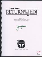 "Jeremy Bulloch Signed Star Wars: Return of the Jedi Limited Edition ""Boba Fett Edition"" Full Script #/150 (JSA COA)"