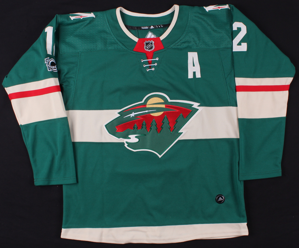 Eric Staal Signed Wild Jersey (JSA COA) at PristineAuction.com 65fec1052