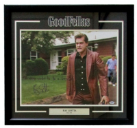 """Ray Liotta Signed """"Goodfellas"""" 25x27 Custom Framed Photo Display Inscribed """"I Always Wanted To Be A Gangster"""" (PSA COA)"""