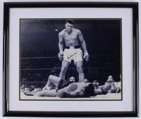 Muhammad Ali Signed 22x26 Custom Framed Photo (JSA ALOA)