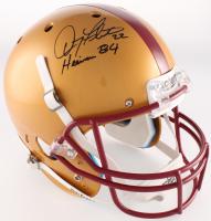 "Doug Flutie Signed Boston College Eagles Full-Size Helmet Inscribed ""Heisman 84"" (Radtke COA)"