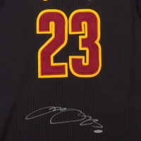 """LeBron James Signed Cleveland Cavaliers """"Pride"""" Jersey (UDA COA) at PristineAuction.com"""
