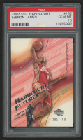 2003-04 Upper Deck Hardcourt #132 LeBron James RC (PSA 10)