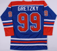 Wayne Gretzky Signed Oilers Captain Jersey (Becket LOA)