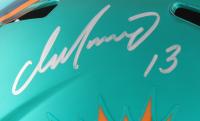 Dan Marino Signed Dolphins Full-Size Blaze Riddell Replica Helmet (LoJo COA) at PristineAuction.com