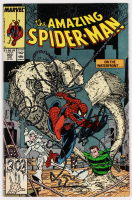 """Stan Lee Signed 1988 """"Amazing Spider-Man"""" Issue #303 Marvel Comic Book (Lee COA)"""