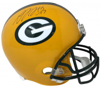 Davante Adams Signed Green Bay Packers Full-Size Helmet (JSA COA) at PristineAuction.com