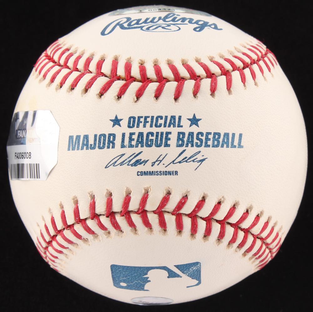 d65abba4ec4 Cal Ripken Jr. Signed OML Baseball Inscribed
