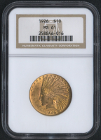 1932 $10 Ten Dollars Indian Head Eagle Gold Coin (NGC MS 61)