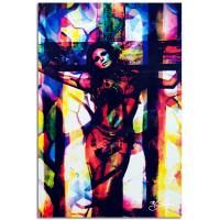 """""""Raquel Welch Convicted Silk"""" 22x32 Contemporary Hollywood Pop Art, Ltd. Ed. Giclee on Glossy Acrylic by Mark Lewis at PristineAuction.com"""