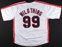 "Charlie Sheen Signed Indians ""Major League"" Wild Thing Jersey (PSA COA) at PristineAuction.com"
