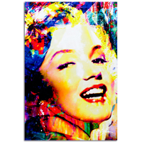 """""""Marilyn Monroe Marilyn Bee"""" 22x32 Contemporary Hollywood Pop Art, Ltd. Ed. Giclee on Glossy Acrylic by Mark Lewis at PristineAuction.com"""