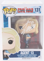 "Stan Lee Signed ""Agent 13"" #131 Captain America: Civil War Marvel Funko Pop Bobble-Head Vinyl Figure (Radtke COA & Lee Hologram)"
