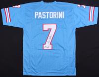 "Dan Pastorini Signed Jersey Inscribed ""Luv Ya Blue!"" (JSA COA) at PristineAuction.com"