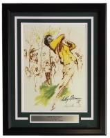 "Leroy Neiman ""Tom Watson"" 18x22 Custom Framed Print Display"