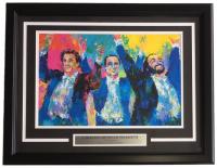 "Leroy Neiman ""Carreras Domingo Pavarotti"" 18x24 Custom Framed Print Display"