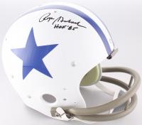 "Roger Staubach Signed Cowboys Throwback Full-Size Suspension Helmet Inscribed ""HOF '85"" (JSA COA) at PristineAuction.com"