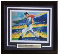 "Leroy Neiman ""The Yankee Clipper"" 18x20 Custom Framed Print Display"