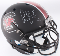 Alshon Jeffery Signed South Carolina Gamecocks Custom Matte Black Full-Size Authentic On-Field Helmet (Fanatics Hologram)