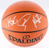 Kevin Durant, Stephen Curry & Klay Thompson Signed NBA Game Ball Series Basketball (JSA LOA)