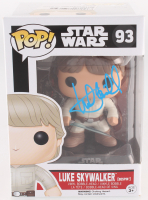 "Mark Hamill Signed ""Luke Skywalker/Bepsin"" #93 Star Wars Funko Pop Vinyl Bobble-Head Figure (Radtke COA) at PristineAuction.com"