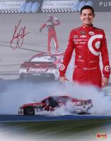 "Kyle Larson Signed NASCAR ""Michigan Win"" 11x14 Photo (PA COA)"