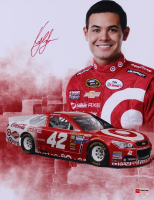 Kyle Larson Signed NASCAR 11x14 Photo (PA COA)