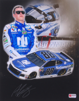 Alex Bowman Signed 2018 NASCAR #88 11x14 Photo (PA COA)