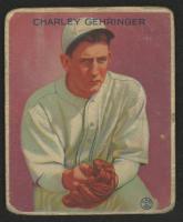 Charley Gehringer 1933 Goudey #222 RC