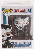 "Stan Lee Signed ""Captain America Civil War"" #134 Crossbones Funko Pop! Bobble-Head Figure (Lee Hologram & Radtke COA) at PristineAuction.com"