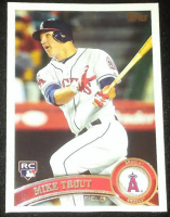 2011 Topps Update #US175 Mike Trout RC