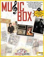 """MUSIC BOX"" - Sportscards.com Music Memorabilia Mystery Box - Signed Albums & Photos, Tickets & More!"