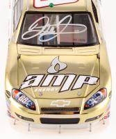 Dale Earnhardt Jr. Signed 2008 #88 Amp Energy / Mt. Dew - Gold Chrome - 1:24 LE Premium Action Diecast Car (Dale Jr. Hologram)