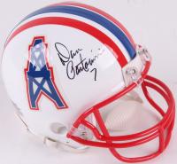 Dan Pastorini Signed Oilers Mini Helmet (JSA COA) at PristineAuction.com