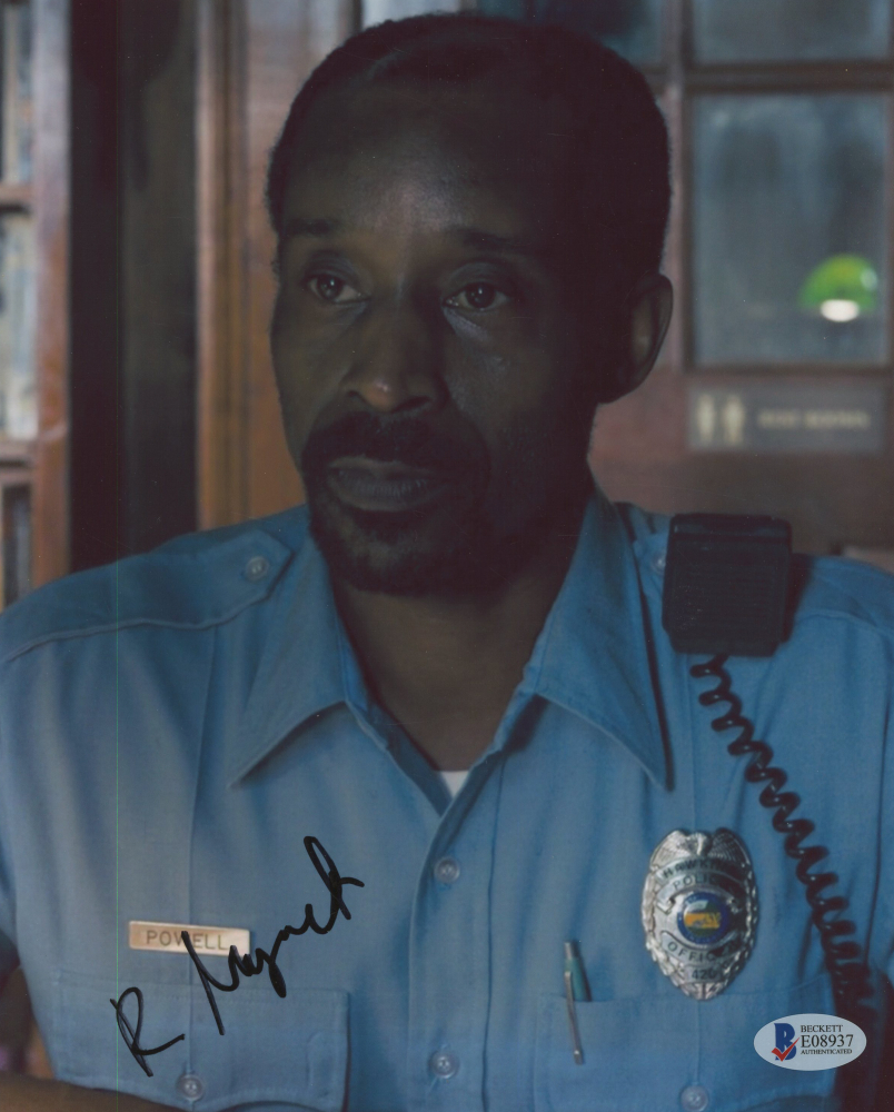 Rob Morgan Signed Stranger Things 8x10 Photo Beckett Coa Pristine Auction