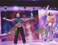 Jeff Hardy & Matt Hardy Signed WWE 8x10 Photo (JSA COA)